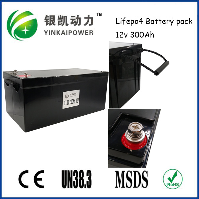 China OEM factory price 12V 300Ah LiFePO4 battery pack for electric scooters, HEV/EV,solar panel system