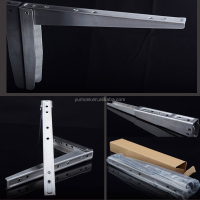 Decorative heavy duty mounting structural stainless steel bracket