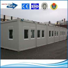 movable prefabricated flat pack modular building