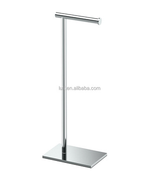 Modern Square Base Toilet Paper Holder Stand