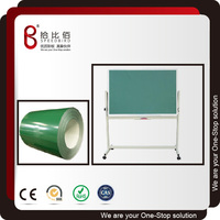 Coated metal white/green/black board steel sheet