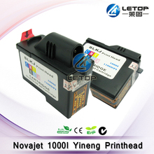 1200dpi inkjet printer ink cartridge ,encad 1000i print head used for yineng printhead