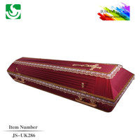 wholesale MDF coffin casket cheap