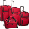 pu colourful assoda trolley&luggage bag for different shape