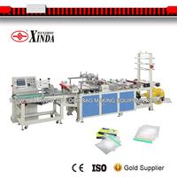 high speed plastic zip sealing bag making machine