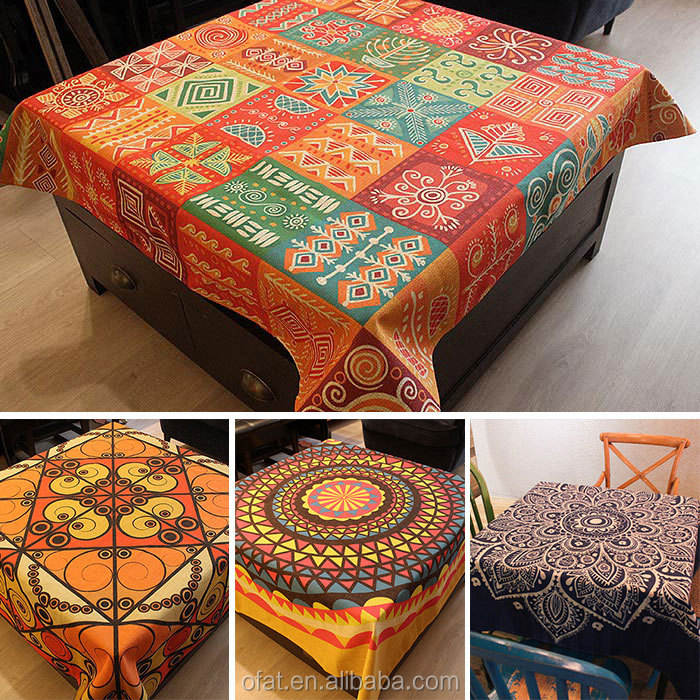 Special Bangkok Linen African Import Table Cloth