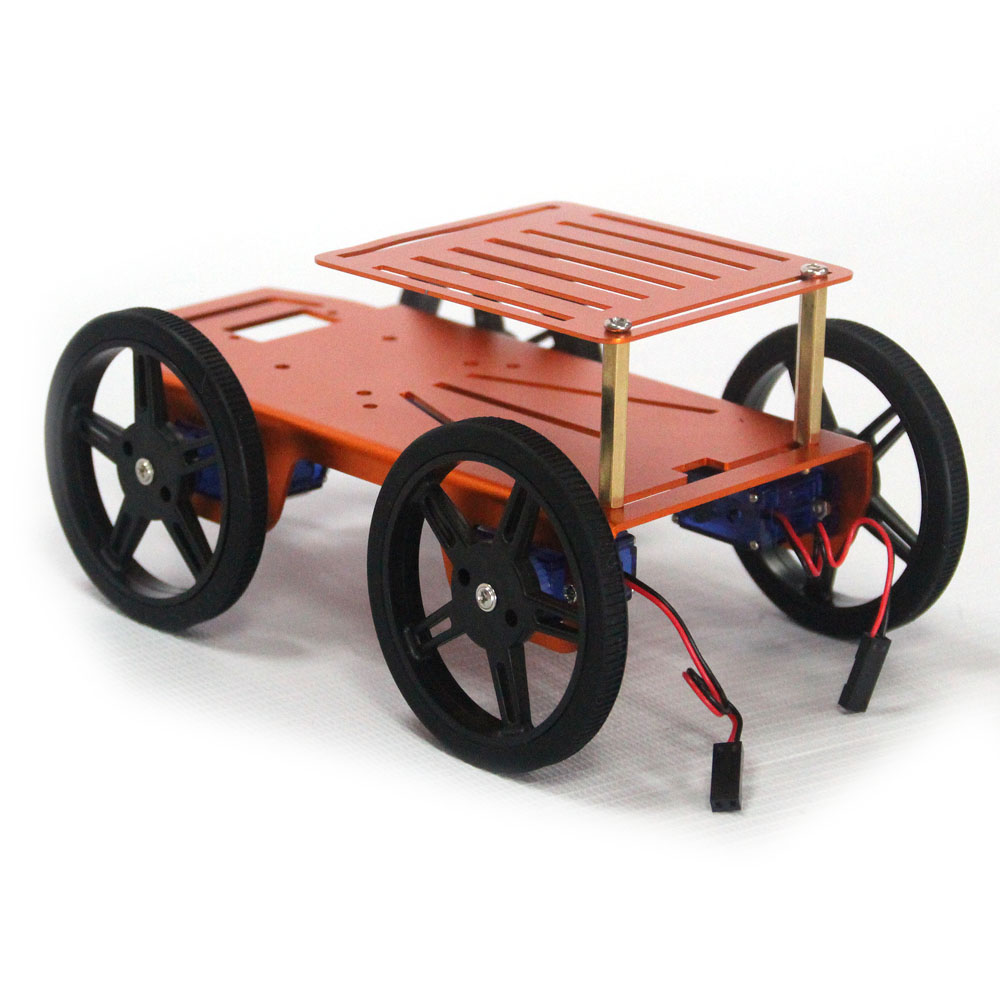 Arduino slimme auto wiel robot kits chassis kan diy