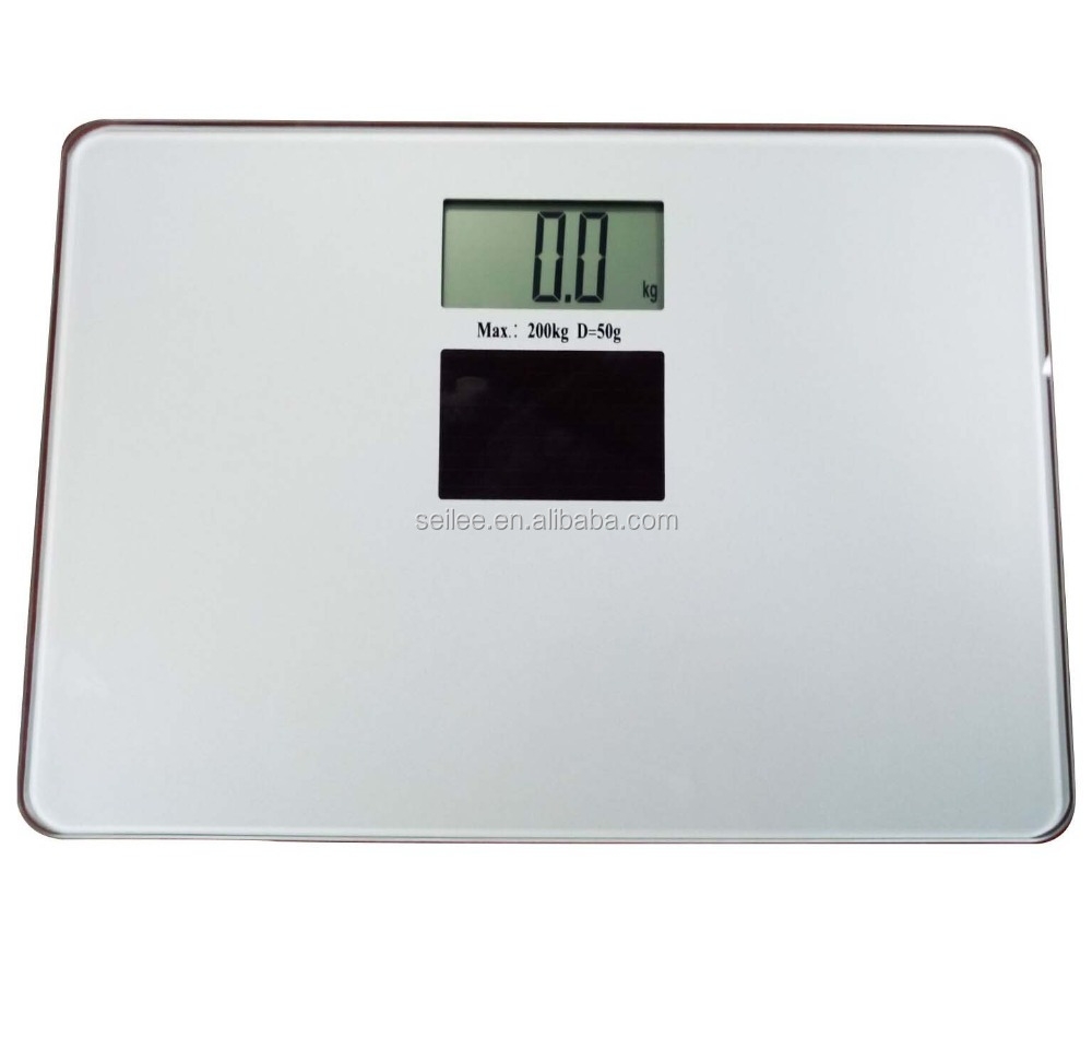 200kg Large platform solar energy digital bathroom health personal scale