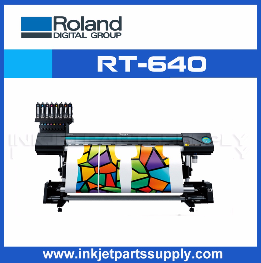 Newest sublimation printer Roland RT640 with DX7 printhead