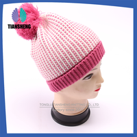 New Product Colorful high quality Hot selling knit winter hat