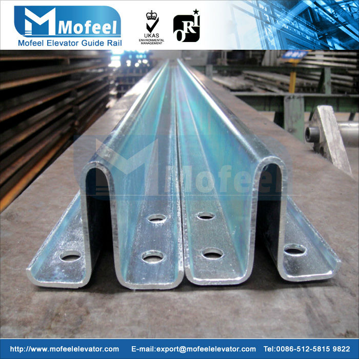 t type elevator guide rail slide guide rails hollow elevator guide rail