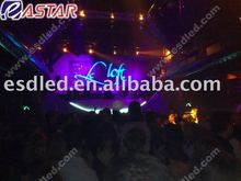 Led lighting Stage and club background gridding curtain screen