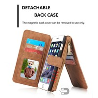 "Flip Leather Cover Case 4.7"" For iPhone 6 , Phone Case Multi functional card holder wallet case Phone Cover for iphone6"