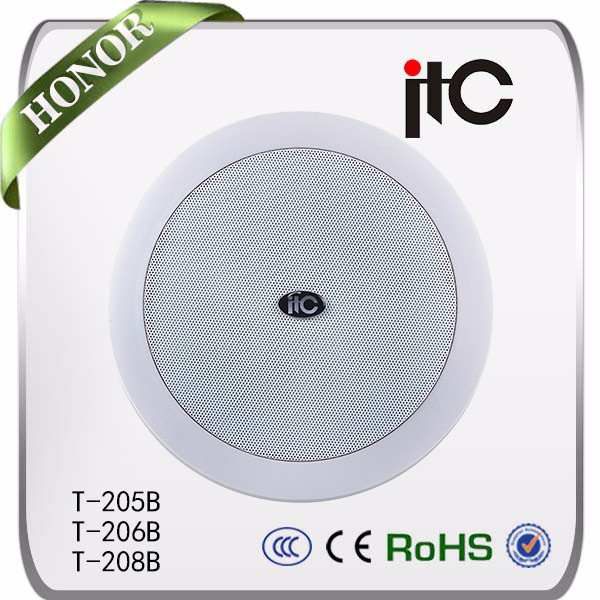 High efficiency rv ceiling speaker