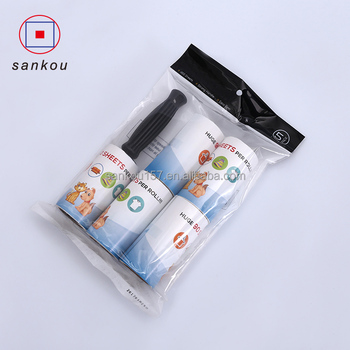 hot selling promotion with handle sticky sublimation paper brite lint roller