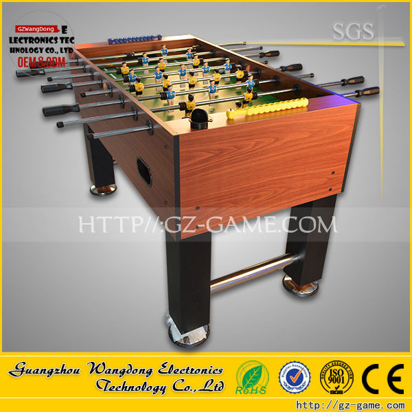 Funny indoor game 2 player table football table price outlet