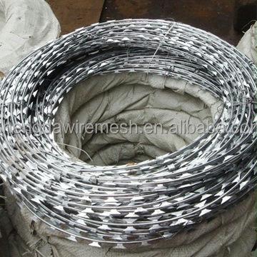 Factory export BTO22 BTO30 concertina wire / Galvanized razor wire