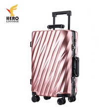 Abs Big Laptop Bag Flight Flag Cabin Spinner Size Trolley Luggage Case