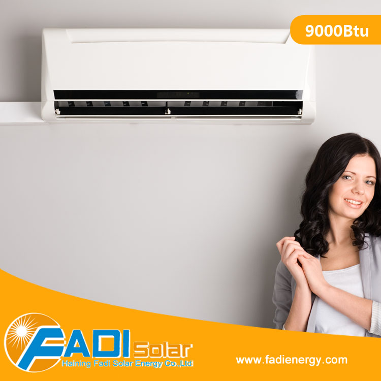9000 Btu Most Cost-Effective AC/DC Hybrid Solar Air Conditioner