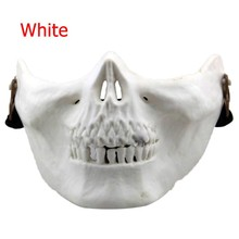 US Military Chiefs Fans M03 Skeleton Mask Half Face Protective Skull Mask Real CS Field Equipment Ghost Mask Wargame Masks Men