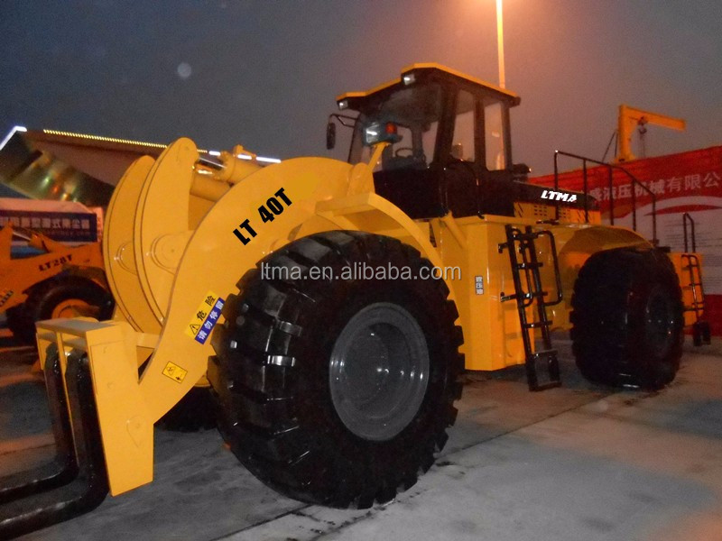 LTMA 10- 40 ton boom loader forklift wheel loader price