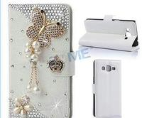 Hot Sale Luxury Magnetic Flip 3D Bling Leather Wallet Case For Samsung Galaxy Grand Prime G530