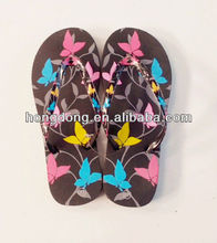 2015 comfortable eva ladies flip flops