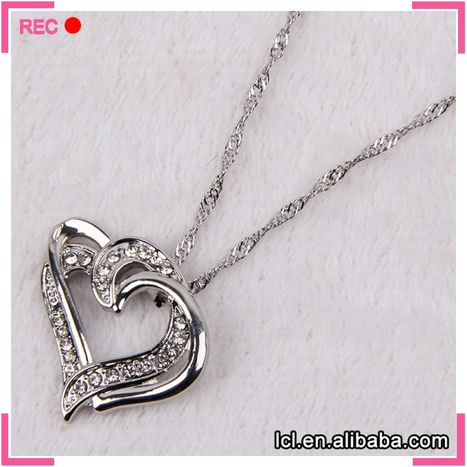 Love necklace women, love pendant new model necklace chain