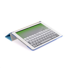 transparent magnetic stand leather case smart cover for tablet pc ipad 2 3 4 6