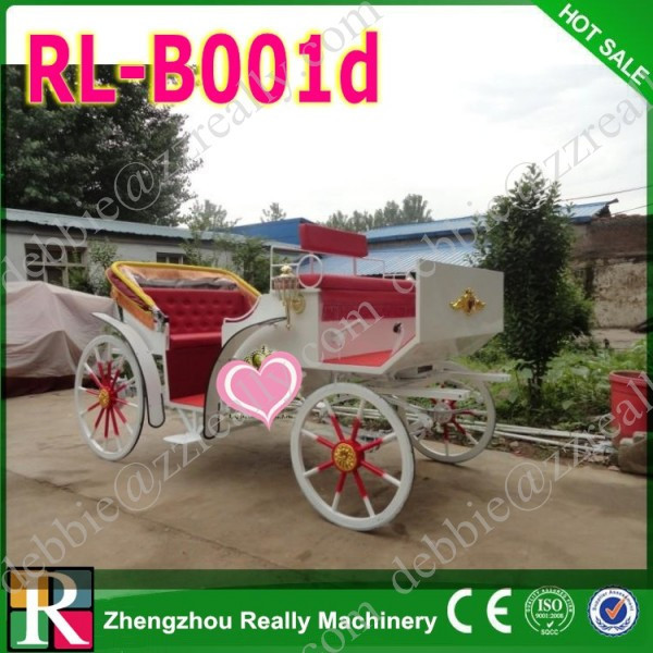 Used horse carriage for sale / wedding romantic horse carriage