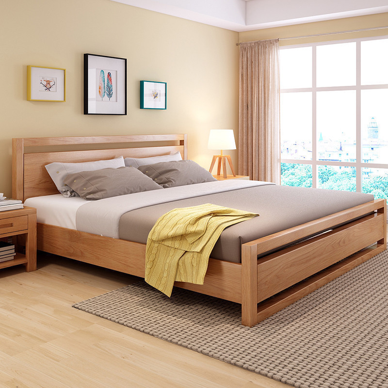 Latest Solid Wood Furniture Wood Double Bed Designs With Box   Buy Solid Wood  Furniture,Solid Wood Furniture Wood Double Bed,Latest Solid Wood Furniture  Bed ...