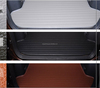 2015 new style auto trunk mat environmental leather trunk mat