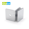 Ningbo Guida high quality stainless steel chrome 90 degree wall to glass door hinge