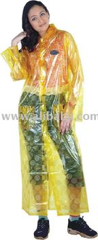 PVC Ladies Raincoat