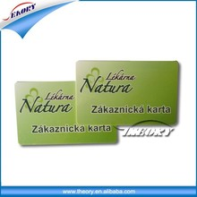 Company office business blank pvc employee id cards