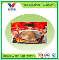chicken take away bag/resealable plastic bags heat/hot food bags