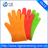 Wholesale durable Heat Insulation Silicon Oven rubber glove/oven mitts for kitchen