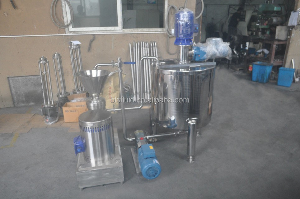 almond milk machines/ almond milk processing machine/ almond milk production process