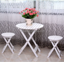 HE-2006,Promotional wooden folding outdoor table and chairs set,garden table and chairs set
