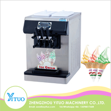 Double Color TableTop Soft Serve Ice Cream Making Machines For Sale