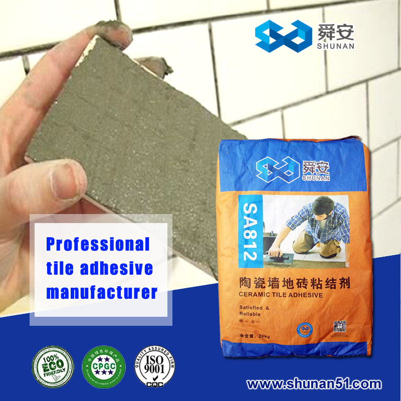 ceramic tile rubber / cement tile adhesive