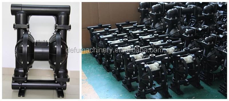 Mini double diaphragm air operated pneumatic diaphragm mud pump qbk series high pressure air operated double diaphragm pumpg ccuart Image collections