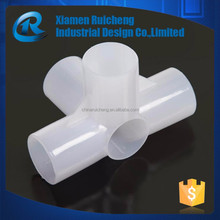 High quality diy tube interface cheap plastic injection molding