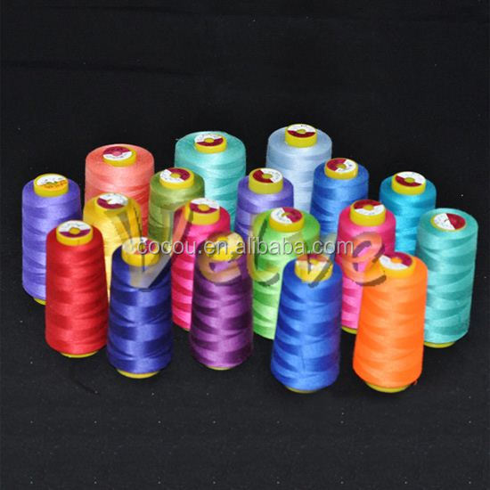 New material core thread cotton industrial thread 402 ring spun 100% polyester sewing thread