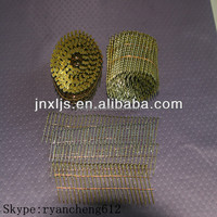 Screw Shank Copper Wire Brad Coil Nails