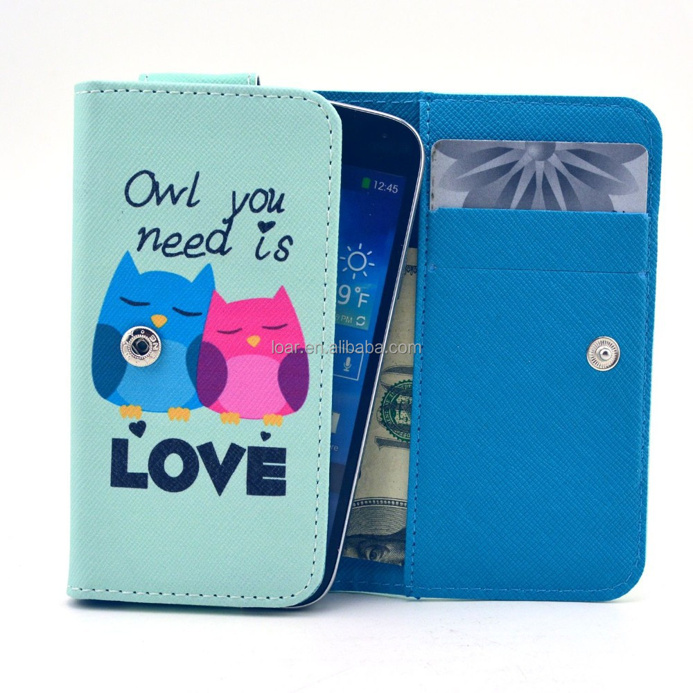 Cute Owl Couple Universal Phone Case