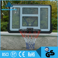 Durable Fashion Solid PC or Acrylic Basketball Backboard With Basketball Net and Ring