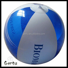 2016 ISO 900l audit wholesale promotional custom branded pvc beach ball