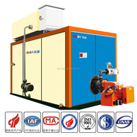 Horrizontal condensing atmospheric pressure hot water boiler