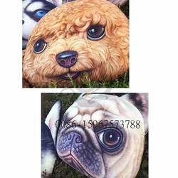 animal digital printing filled sofa 3d decorative pillow